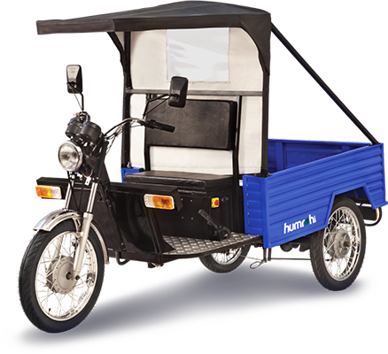 Electric three wheelers humrahi